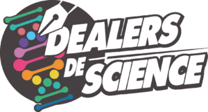 Logo carré des dealers de science