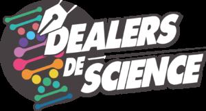 Logo carré des dealers de science