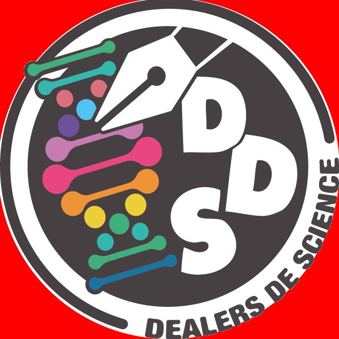 Logo rond des dealers de science